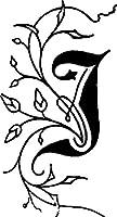 ☆シーリング(封ろう)スタンプ ハンドル付き 装飾アルファベット/A~L☆華やかな印象のアルファベットエルバン(Herbin)hb400J(HB40010)