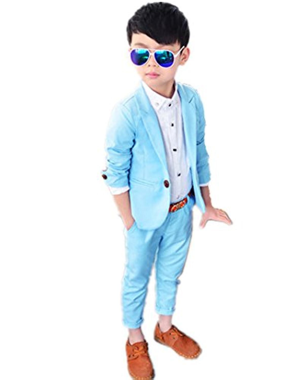 子供スーツ キッズ服 男の子衣装 ズボン、コート 2色入荷 卒業式/入園式/発表会/七五三/フォーマル 90~130cm