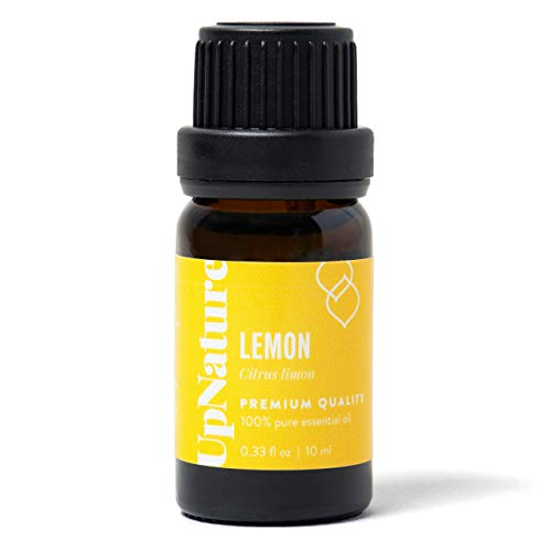 Lemon Essential Oil - 100% Pure Premium Lemon Oil - Great for Skin, Ingestion, Mood, Attention and Focus, Aromatherapy, Essential Oils Lemon Balm
