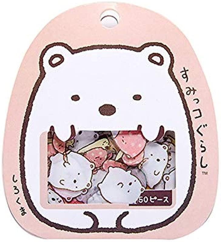 50 Pcs Bag DIY Cute Cartoon Kawaii PVC Stationery Stickers Lovely Cat Bear Sticker For Diary Decoration Note Sticker Flakes 2