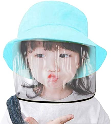 Details about  /4x Kid Face Shield Protective Visor Hat Cap Cover Safety Fisherman Hat Anti-dust