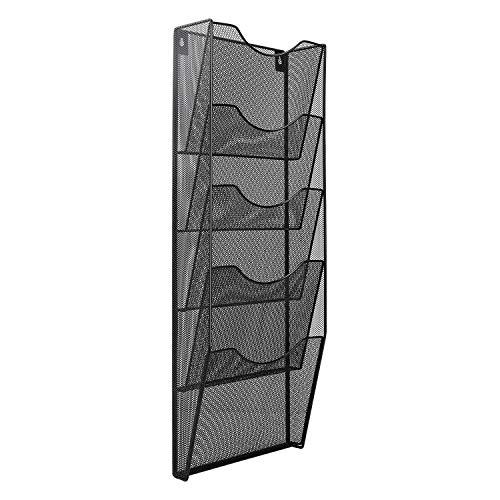 Amazon Basics 5Pocket Steel Wall File Black