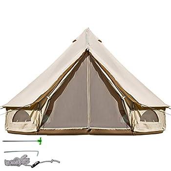 BuoQua Tente Mongole Yourte Mongole Camping Tente Camping Yourte (4M)
