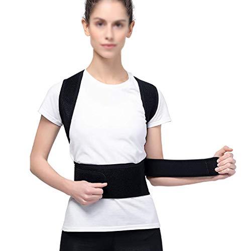 Wghz Ropa correctiva jorobada Niños y niñas Adultos Correctamente Espalda Recta con Tirantes de Espalda correctores espinales (Tamaño: XL)