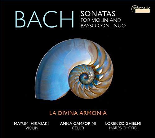 J.S. Bach: Sonaten für Violine & B.c. BWV 1021-1023, 964 & 968