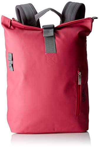 BREE Collection Unisex-Erwachsene Pnch 712 Backpack Rucksack, Pink (Jazzy), 14x36x30 cm