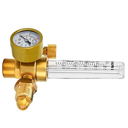 Without brand SFE-mggj, 1pc CGA580 Male thred Argon CO2 Mig Tig Flowmeter Welder Welding Regulator Messer Gas Welder Air Compressor Druckregler