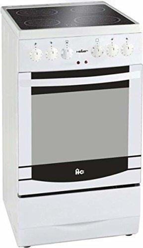 Heller 505607 Elektroherd Glaskeramik-Kochfeld / 80 cm/hohe Funtionalität/effektive Erwärmung von Speisen