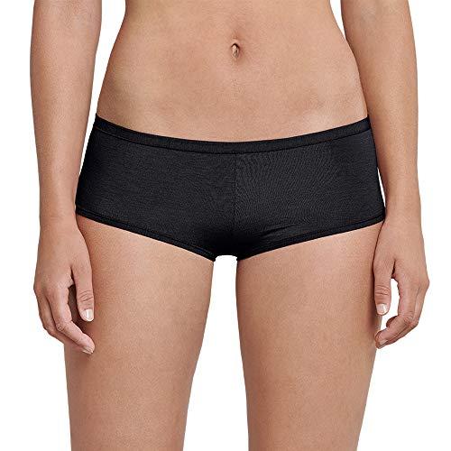 Schiesser Damen Personal Fit Shorts Hipster, Schwarz (Schwarz 000), XL