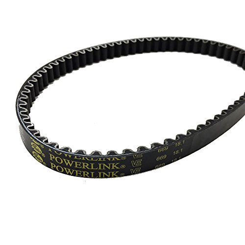 Gates Power Link Belt 669-18.1-30 GY6 QMB139 50cc Chinese Scooter Short Case