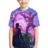 Tra-vis Scott T Shirts Kids Youth Crewneck Fashion 3D Print Short Sleeve Tee for Boys and Girls
