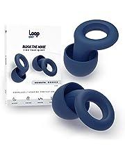 Loop Quiet Tapones para Oído Antiruido - 6 Tapones de Silicona Suave Reutilizables para Silencio y Protección Auditiva - Redución de Sonido en 30dB - Para Dormir, Viajar, Conciertos