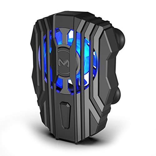 Ventilador Enfriador Recargable USB Semiconductor Radiador de refrigeración para teléfono móvil Soporte para Almohadilla de Juego de teléfono Universal Radiador de Soporte