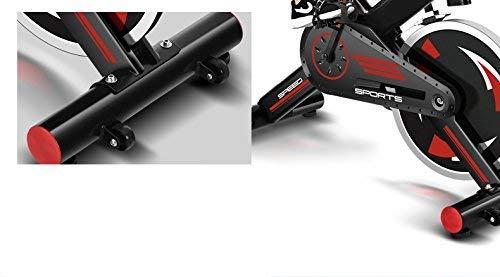 FIT-FORCE Bici Spinning X24KG con Volante de...
