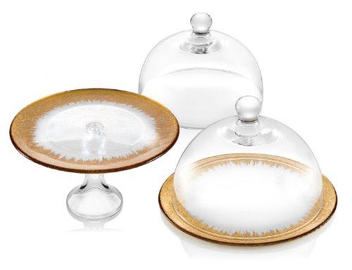 IVV Glassware Orizzonte 11-Inch Dome, Clear