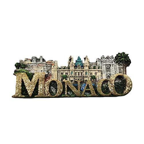 Monaco 3D Letters Palace Kühlschrankmagnet Travel Sticker Souvenirs, Home & Kitchen Dekoration Monaco Kühlschrankmagnet aus China