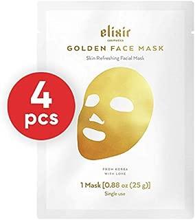 Best elixir gold korean face mask Reviews