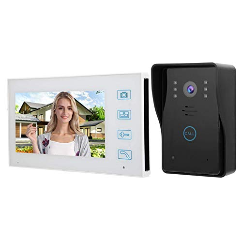 Portero automático, Intercomunicador Timbre a Prueba de Agua, para Toma automática de Fotos, para Villa,(European regulations)