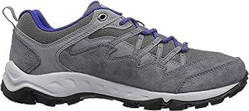 Columbia Women s WAHKEENA Hiking Shoe ti Grey Steel Clematis Blue 9.5 Regular US