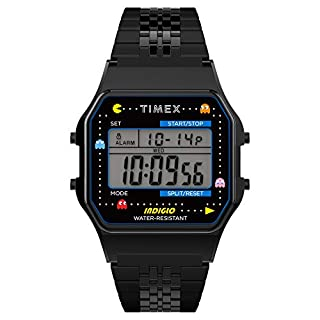 Timex T80 x PAC-MAN 34mm Digital Watch – Black with Stainless Steel Bracelet (B08CRC69LP) | Amazon price tracker / tracking, Amazon price history charts, Amazon price watches, Amazon price drop alerts