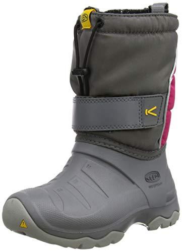 KEEN Unisex Kinder Lumi Boot Ii Wp Halblange Stiefel, Grau (Steel Grey/Pink Peacock), 32/33 EU
