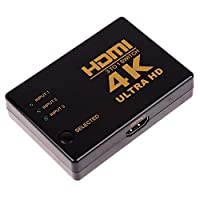 FENGYI KEJI 1pc 4K*2K 3 In 1 Out HDMI Switch 3 Port HDMI 1.4 Switcher Hub Splitter Ultra HD for HDTV PC
