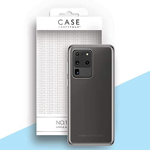 Case FortyFour No.1 para Samsung S20 Ultra - Funda delgada y ligera para teléfono - transparente