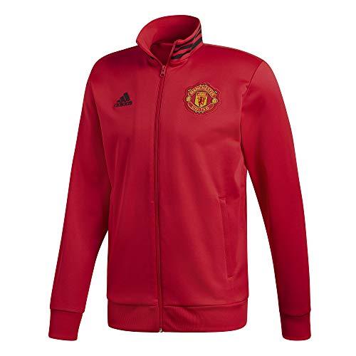 adidas Herren Manchester United 3S Trainingsjacke, real red/Black, S