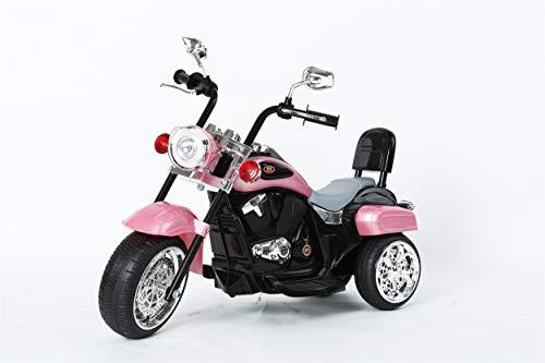 Ricco Kids 3 Wheel Chopper Trike Motorcycle Electric Ride on Motor Bike LED...