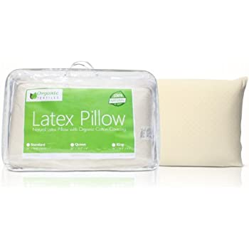 Vytex Cloud Pillow 100/% Natural Latex Soft Plush Collection The Only Virtually Allergy Free Latex Soft Medium Plush Standard 16 X 24 Inches Equivilent to 19 ILD with Cotton Zip Up Cover