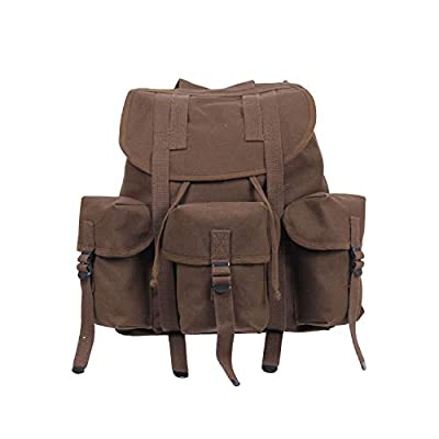 Rothco G.I. Type Heavyweight Mini Alice Pack, Earth Brown