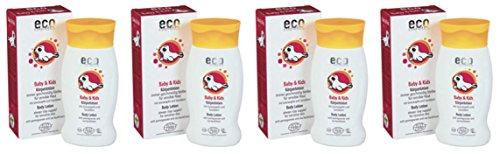 Eco cosmetics lait corporel bébé - Flacon 200 ml