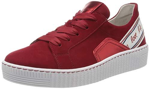 Gabor Shoes Damen Jollys Sneaker, Rot (Rubin Kombi 15), 40.5 EU