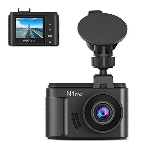 Vantrue N1 Pro Mini Dash Cam Full HD 1920x1080P Car Dash Camera 1.5 inch 160 Degree DashCam with Sony Night Vision Sensor, 24 Hours Parking Mode, Motion Sensor, Collision Detection, Support 256GB Max