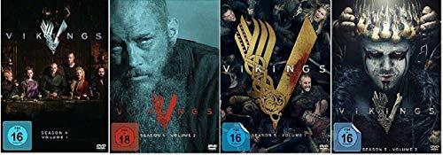 Vikings Staffel 4.1-5.2 (4.1+4.2+5.1+5.2, 4.1 bis 5.2) [DVD Set]