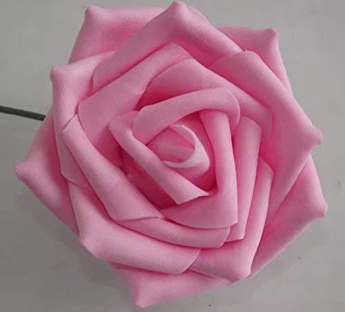 LINSUNG 10x Foamrosen Schaumrosen Schaumk?pfe Künstliche Blume Brautstrau? Party Hause Dekor