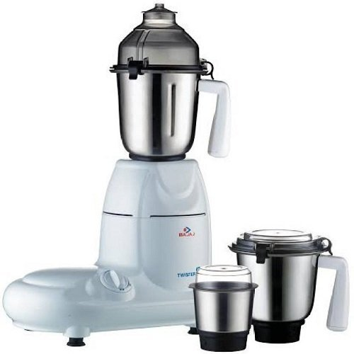 Bajaj Twister 750-Watt Mixer Grinder with 3 Jars...
