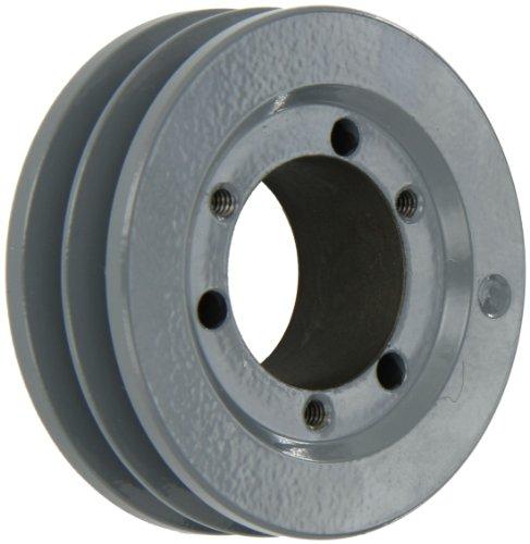 Gates QD2/3V3.15 QD Super HC, sección de 3 V, diámetro exterior de 3,15 pulgadas, 2 ranuras, ancho de cara de 1-3/32 pulgadas, orificio de 1-3/16 pulgadas