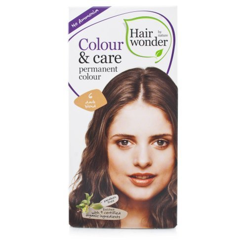 Colour and Care- 6 Dark Blond 3.50 Ounces by Hair Wonder by Nature