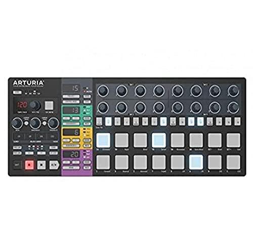 Arturia BeaTSTep Pro Limited Black Edition Black Midi Keyboard (Knöpfe, rotary, weiß, 415 mm, 163 mm, 36 mm, 1,45 kg)
