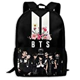 bts 2 COOL 4 SKOOL wallpaper Casual Backpack Daypack College Bag School Bag Laptop Bag Book Bag