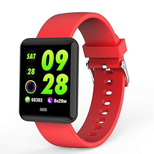AFITNESS Bluetooth Smartwatch, Smart Horloges Ontgrendeld Horloge Telefoon kan bellen en tekst met TouchScreen Camera Notification Sync Compatibel voor Android iOS