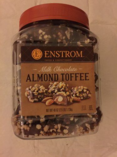 Enstrom Milk Chocolate Almond Toffee Nt Wt: 40 Oz 113kg