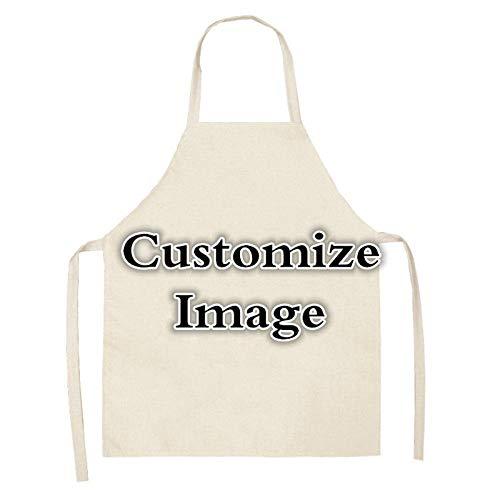 Manguera de ducha Su delantal de la parrilla la cocina del cocinero delantal de lino for hornear barbacoa Cocina for Hombres Mujeres ajustable-1_47x38cm Flexo de ducha ( Color : 1 , Size : 47x38cm )