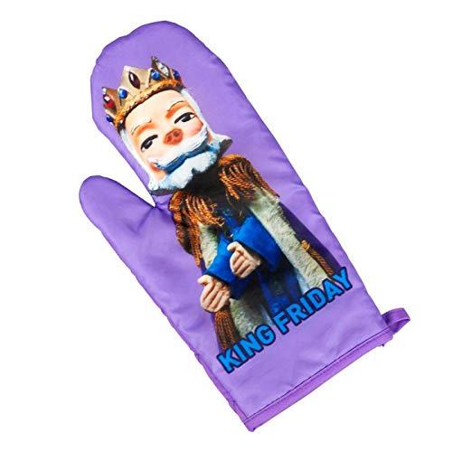 Mister Rogers Neighborhood King Friday Puppet Oven Mitt | TV Show Merchandise