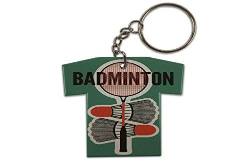 Schlüsselanhänger Sport Badminton Trikot Bedruckt