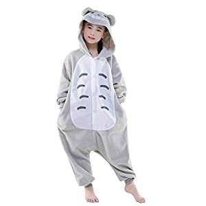 NEWCOSPLAY Halloween Unisex Child Totoro One-Piece Pajamas Costume