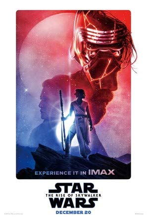 Star Wars: The Rise of Skywalker – U.S Imax Movie Wall Poster Print - 43cm x 61cm / 17 Inches x 24 Inches A2