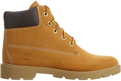 Timberland Youths Icon 6-inch Premium Wheat Leather Boots 38 EU