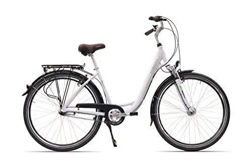 Hawk City 7-G Fahrrad, Wave White, 26 Zoll